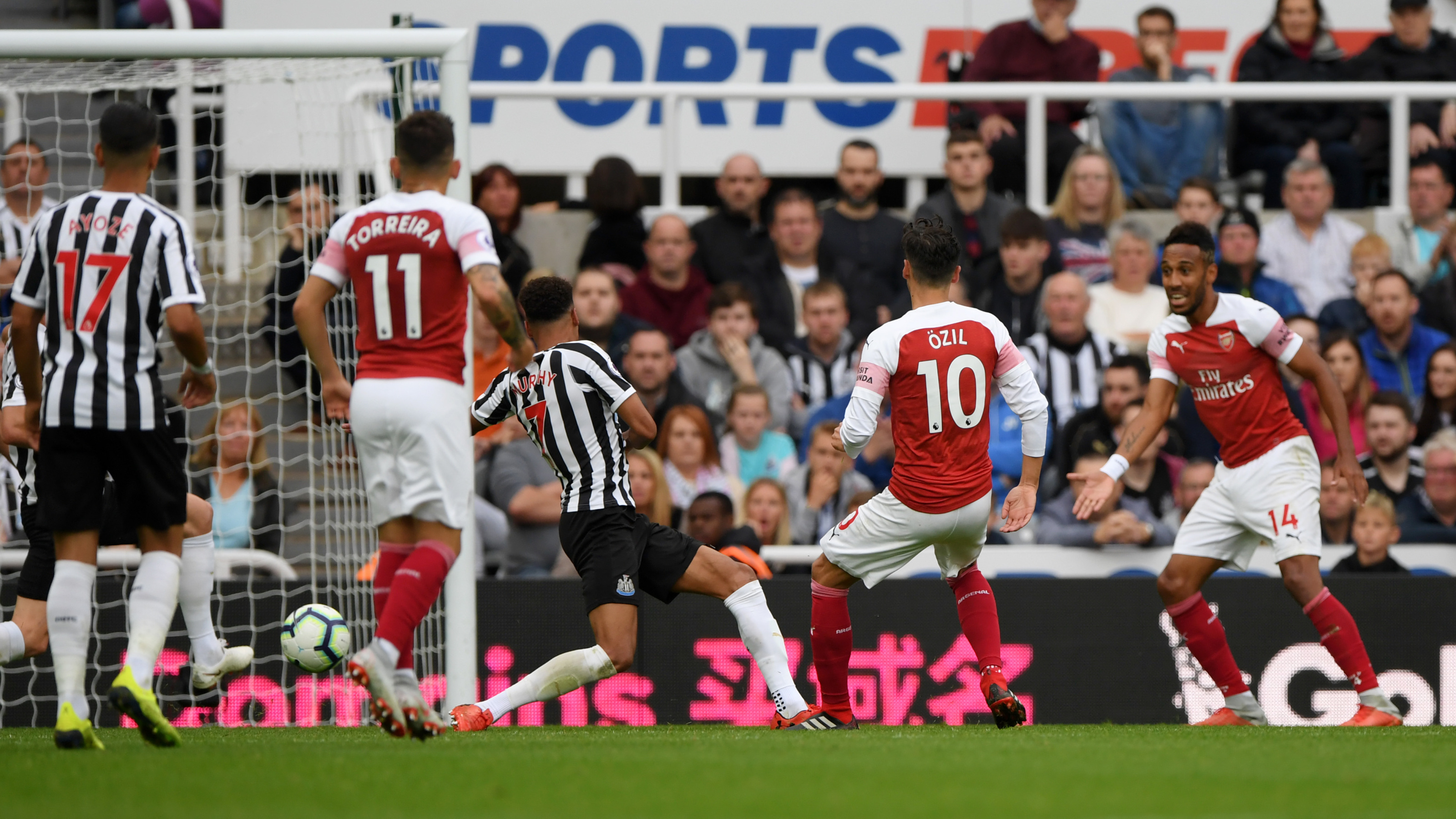 Looking back at 2018-19 Newcastle United vs. Arsenal